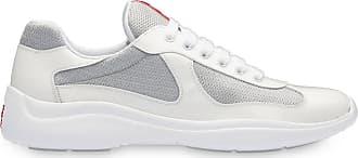 Prada Tênis de cadarço - Branco