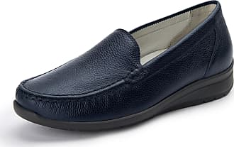 Waldläufer Hinata moccasins in calf leather Waldläufer blue