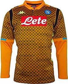 Kappa sac Napoli skin fit long sleeve goalkeeper jersey with Kappa Kombat Technology