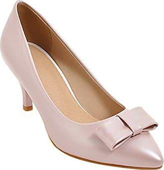 58b991bcfbec16 Mee Shoes Damen elegant high heels Geschlossen Pumps (34