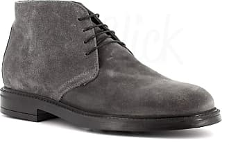 Generico Generic Made in Italy Leather Boot - Grey Grey Size: 10.5 UK