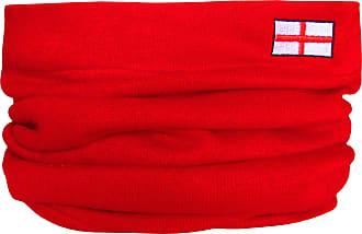 Mens Scottish Thistle Fine Knit Scotland Sports Snood Scarf