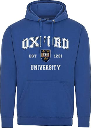 Oxford University Harvard Style Hoodie - Royal Blue - 2XL