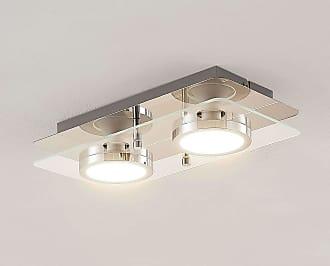 Lindby Gabryl lámpara LED de techo, 2 luces