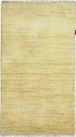 Nain Trading 137x79 Persian Gabbeh Kashkuli Rug Modern/Design Beige/Pink (Hand-Knotted, Wool, Iran/Persia)