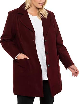Ulla Popken Womens Onlamaze Reg an Pip DNM Jeans Bj14550-6 Coat, Red (Beere 83), 20 (Size: 46+)