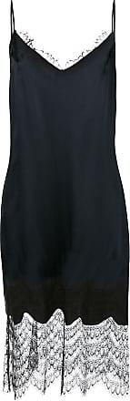 Kiki De Montparnasse silk slip dress - Black
