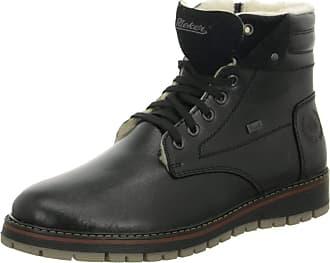 Rieker Mens Nobel Black Water Resistant Walking Boots F4114-00 8 UK