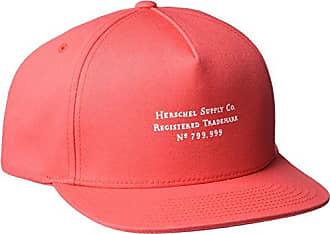 Herschel Mens Trademark, Rococo Red, One Size