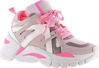 Damannu Shoes Tênis Sneaker Chunky Judy Neon - Cor: Rosa - Tamanho: 35
