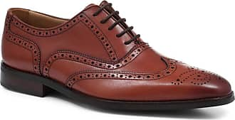 Jones Bootmaker Leather Oxford Wing-Tip Brogue