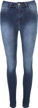 Sawary Calça Jeans Sawary Skinny Iricap Azul
