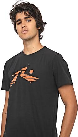 Rusty Camiseta Rusty Stripe Preta