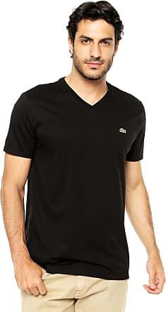 e703bb716d98c Camisetas em Preto para Masculino por Lacoste   Stylight