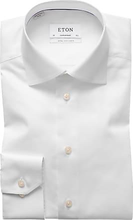 Eton Businesshemd Contemporary Fit mit extra langem Arm von Eton in Weiss für Herren