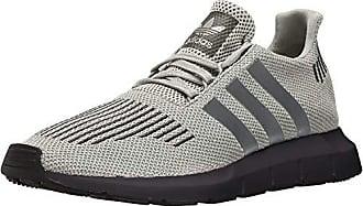 adidas Originals Mens Swift Run Shoe, Raw White/Grey Three/Core Black, 12.5 Regular US