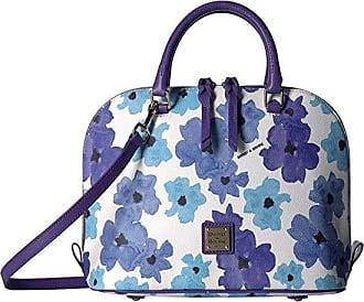 Dooney & Bourke Bloom Zip Zip Satchel (Yellow/Dandelion Trim) Handbags