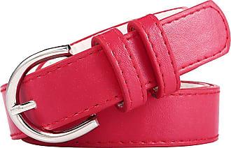 Formal or Casual 1 Inch Fashion belt Womens Elastic Belt with Dandelion Flower Buckle