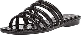 Donald J Pliner Womens KIP Slide Sandal Black 8 Medium US