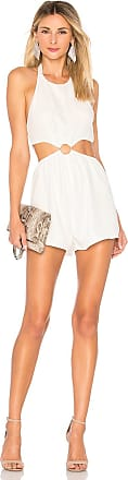 Superdown Eliana O Ring Cut Out Romper in White