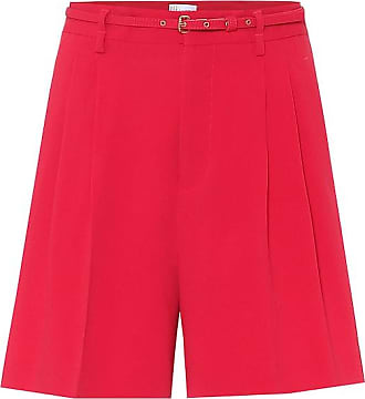 Red Valentino Shorts aus Crêpe
