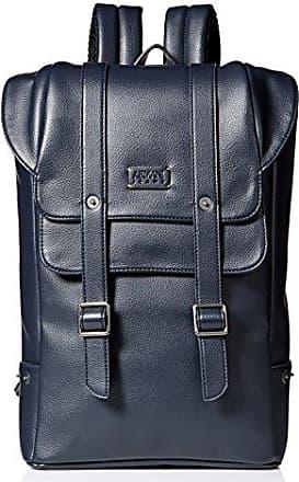 A|X Armani Exchange Armani Jeans Mens Deerskin Look Embossed Backpack