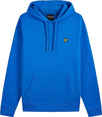 Lyle & Scott Lyle and Scott Men LS Pullover Hoodie - Cotton - XL Bright Cobalt