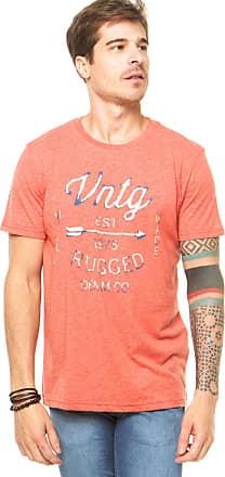 Jack & Jones Camiseta Jack & Jones Vintage Vermelha