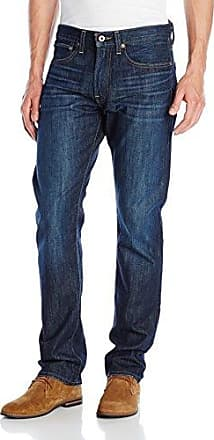 NWT MENS LUCKY BRAND JEANS 121 Multiple Sizes Slim Straight Mid Rise Salted Blue