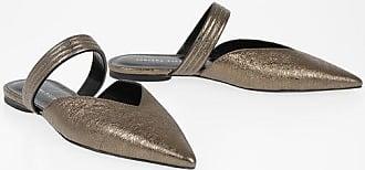 Fabiana Filippi Metallic Leather TAMARA Mules size 36