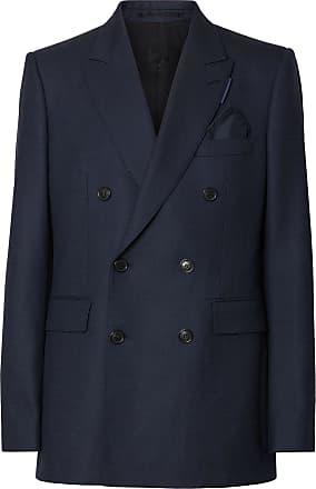 ba095c6d91c Burberry English fit Birdseye suit jacket - Blue