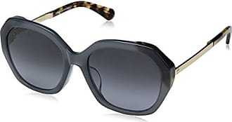 Kate Spade New York Kate Spade Womens Kaysie/f/s Oval Sunglasses, BLHVN BLU, 56 mm
