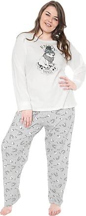 Pzama Pijama Pzama Enjoy Off-white/Azul