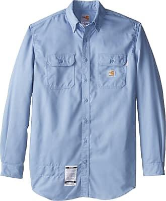 Carhartt Mens Big /& Tall Flame Resistant Classic Twill Shirt