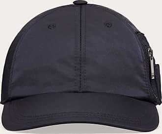 Valentino Garavani Valentino Garavani Uomo Nylon Baseball Cap With Valentino Embroidery Man Navy/ Red 100% Cotone 57