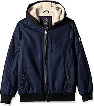 Urban Republic Mens Wool Ackets, Gray, XL