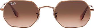 Ray-Ban Óculos de Sol Geométrico Rosé - Mulher - 53 US