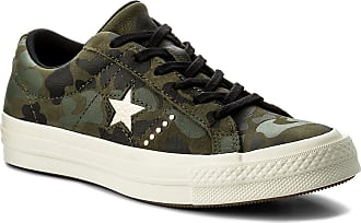 9904aaee80a Converse Tenis CONVERSE - One Star Ox 159703C Herbal/Light Gold/Egret