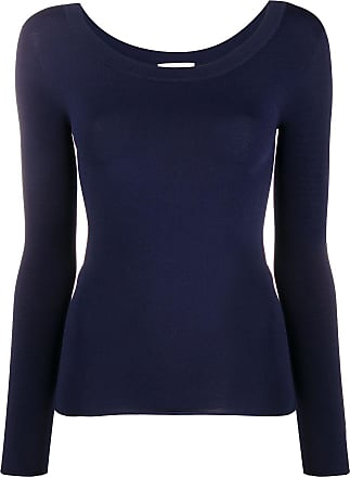 Zanone fine knit jumper - Blue