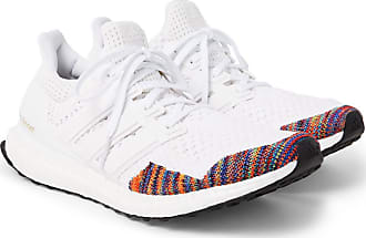 adidas Originals Ultraboost Ltd Rubber-trimmed Primeknit Sneakers - White