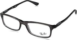 545a73bf0a Ray-Ban 0RX7017 Monturas de gafas, Transparente Grey, 53 para Hombre
