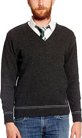 Harry Potter Slytherin Crest Sweater Hogwarts College Uniform Lamb Wool made in Scotland - XS