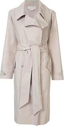 Karen Walker tie-waist trench coat - Brown
