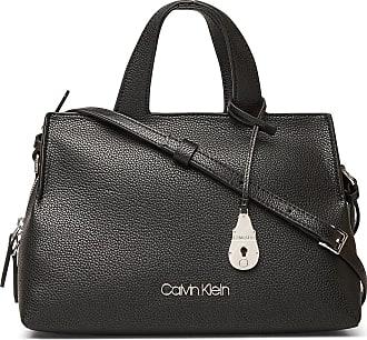 Calvin Klein Neat Tote Md Bags Top Handle Bags Svart Calvin Klein