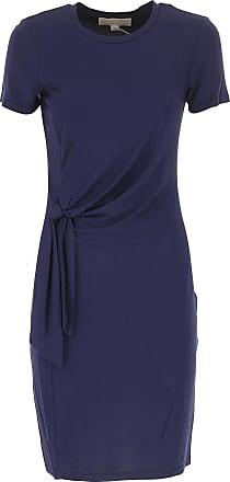 43b12d9dc7 Michael Kors Abito Donna Vestito elegante On Sale, True Navy Blue, Viscose,  2017