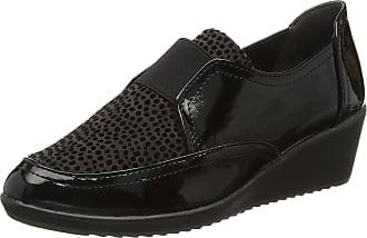 Marco Tozzi Womens 24702 Loafers, Black (Black Comb 098), 3.5 UK
