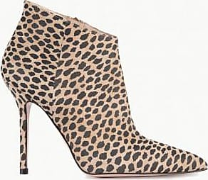 Liu Jo Liu Jo Women Stivaletti animalier in suede BROWN 35
