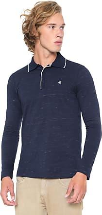 Malwee Camisa Polo Malwee Reta Logo Azul-marinho