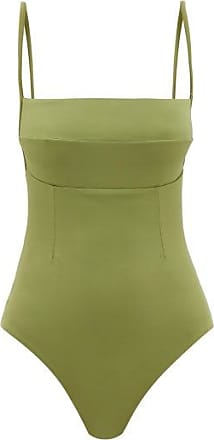Haight Paula Square-neck Swimsuit - Womens - Green