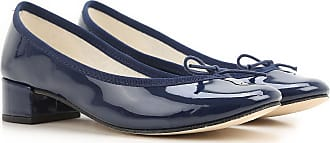 Repetto Ballet Flats Ballerina Shoes for Women On Sale, navy, Patent Leather, 2017, 6